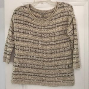 Lucky Brand- Loose knit sweater